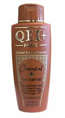 QEI+ Paris Oriental Toning Body Milk / Body Lotion with Argan Oil (500ml)