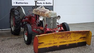 Ford 9N Tractor With Front Blade