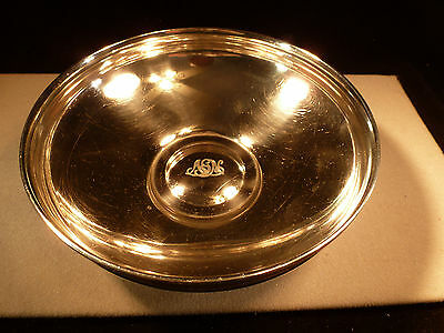 Antique Tiffany And Co Sterling Heavy Craftsman Silver Bowl John Moore 1915