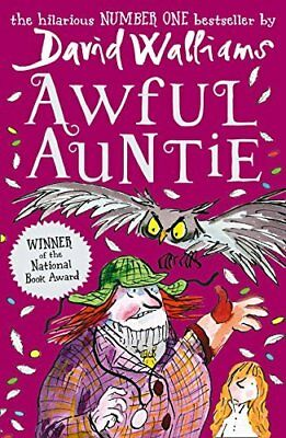 Awful Auntie by David Walliams New Paperback Book