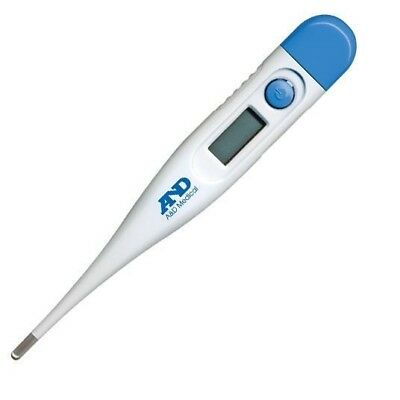 A&D Medical UT103 Digital Thermometer Baby Adult Pet Oral, Underarm or Rectal