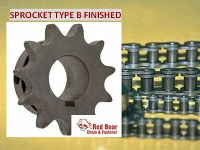 """40B12H-1"""" Type B Finish Bore Sprocket for #40 Roller Chain 40BS12H 12 TOOTH"""