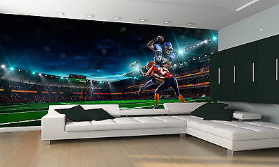 American Football Player Wall Mural Photo Wallpaper GIANT DECOR Paper Poster