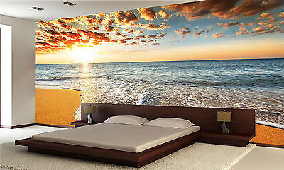 Brilliant Ocean Wall Mural Photo Wallpaper GIANT WALL DECOR POSTER Free Glue