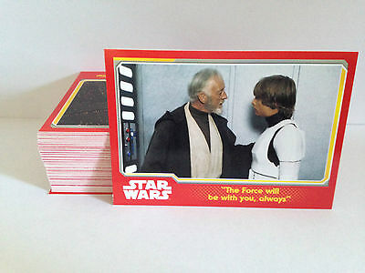 Topps STAR WARS JOURNEY TO FORCE AWAKENS trading cards 1-85 choose what you need