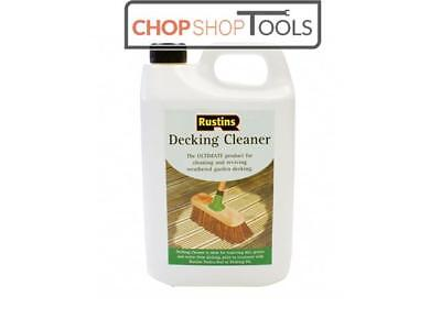 Rustins RUSDECL4L Decking Cleaner 4 Litre