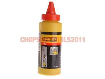 Stanley Tools STA147404 Chalk Refill Red 113g