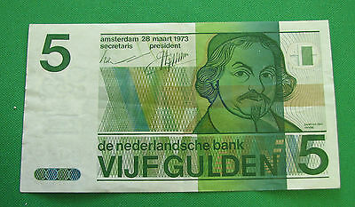Netherlands 5 Gulden 1973 EF
