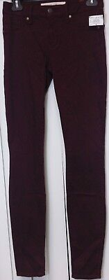 Marc Jacobs Stick Pants Stretch Jeans Winetasting Size 26 M4001348A Msrp $168