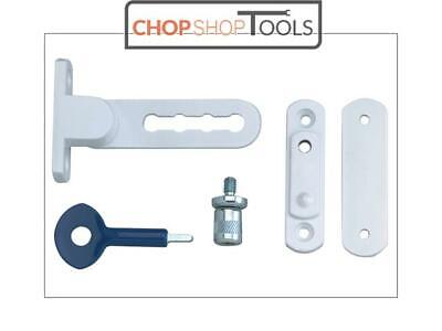 Yale Locks YAL2P117WE P117 Ventilation Window Lock White Finish Pack of 2