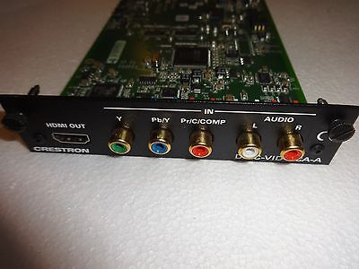Crestron Rca Analog Video Input Card With Analog Audio For Dm Switchers