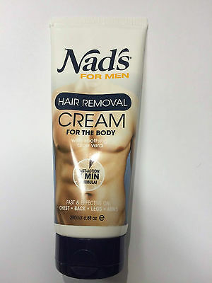Nad's For Men Hair Removal Cream 6.8 oz (200 ml)  !! HOT ITEM !!!!