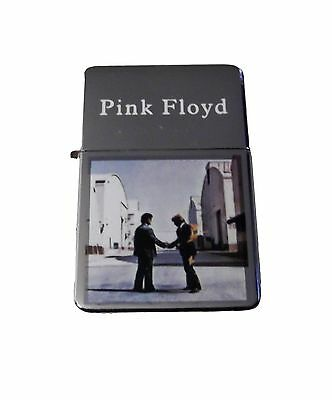 Pink Floyd Wish You Were Here Refillable Metal Flip Top Lighter