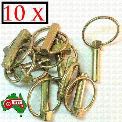 "10 x 11 mm 7/16"" Lynch Linch Pin Locking Tractor Implement Trailer Caravan"
