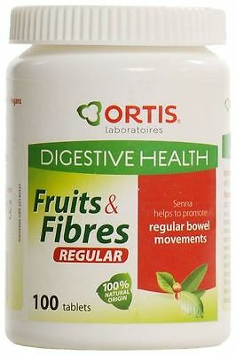 Ortis Fruits & Fibres (1 x 100 Tablets)