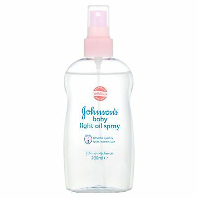 Johnson's Baby Light Oil Spray 200ml
