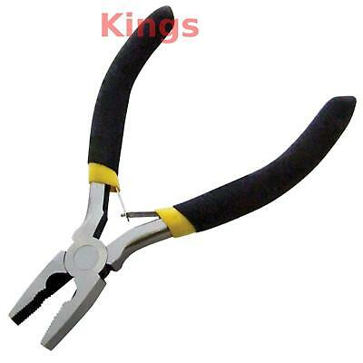 Mini Small Mini Combination Pliers Precision Jewelry Craft Sprung Grip Handles