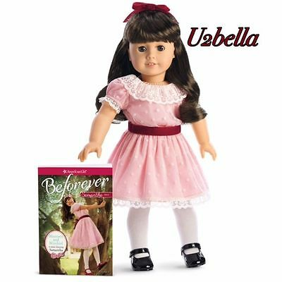 American Girl BeForever Samantha Doll and Book 18' Doll New in box