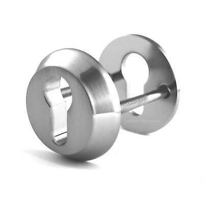 High Security Euro Lock Anti-Ligature Escutcheons, STAINLESS STEEL, Free P&P