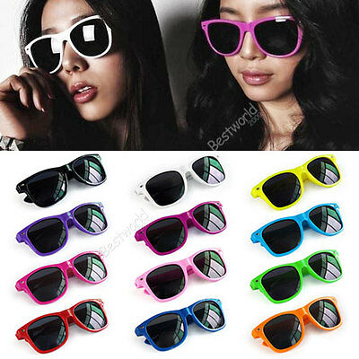 Fashion Retro Vintage Unisex Trendy Cool Sunglasses 12 Colors Hot Sale B9
