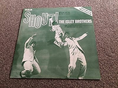 "Isley Brothers - Shout (Parts 1 & 2 - 4.23 Version) - 1979 4 Track 12"" Ep Ex/ex"