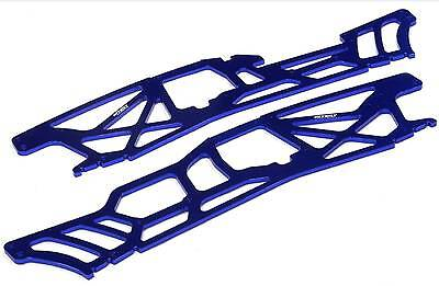 INTEGY Blue 4MM CNC ALLOY CHASSIS PLATES TVP FOR HPI SAVAGE XL