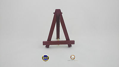 MINI WOODEN EASEL 6'' (16cm) WITH CHAIN MANY COLORS ARTIST ART STAND FOLDABLE