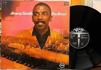 Jimmy Smith THE BOSS LP orig Italy 1969 Verve