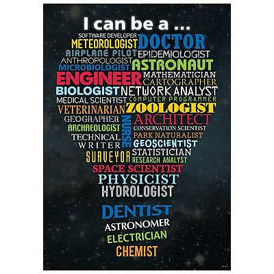 STEM Careers Inspire U Poster - Classroom Display Posters