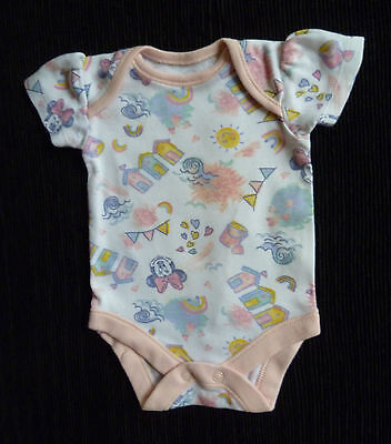 Baby clothes GIRL newborn 0-1m Disney Minnie Mouse bodysuit/top/outfit SEE SHOP!