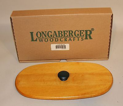 1997 Longaberger Traditions Fellowship Basket Classic Stain Lid New in Box