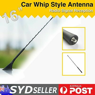 Black 16''  Screw Radio TV Car AM FM Antenna Aerial For Nissan 350Z 370Z Navara
