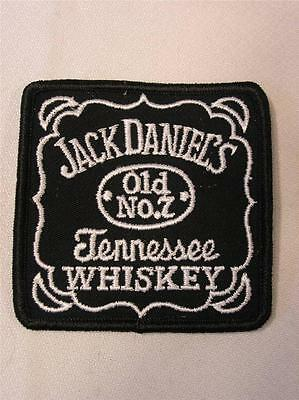 JACK DANIELS TENNESSEE WHISKEY EMBROIDERED OLD No. 7 SEW ON PATCH