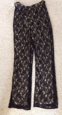 Stenay Lace And Beaded Pants