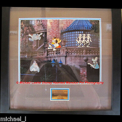 Disney 999 Happy Haunts Event Crafty Ghosts Cunning Characters Framed 5 Pin Set