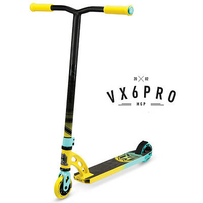 2016 Madd Gear Mgp Vx6 Complete Pro Scooter Yellow/teal - Free Delivery