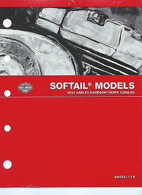 Harley-Davidson 2011 Softail Models Parts Catalog P/N 99455-11A