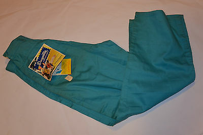 VINTAGE 1950s UNUSED GIRLS SANFORIZED COTTON PANTS 'DUNGARETTES'! WITH TAGS! 10