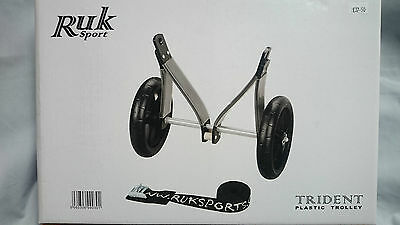 RUK Sport Trident Plastic Kayak Trolley with Strap