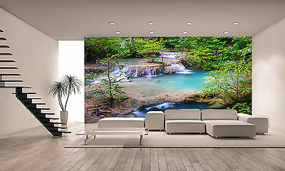 Waterfall - Thailand Wall Mural Photo Wallpaper GIANT DECOR Paper Poster