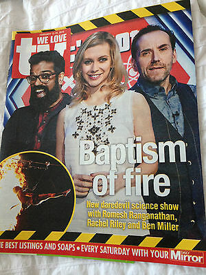 WE LOVE TV Magazine 02/2016 RACHEL RILEY Ben Miller MICK JAGGER PHOTO COVER