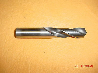 Screw Machine Drill Bit -  Lot of 6 Bits - - Dia: 15/32 - - OAL: 3 3/4""