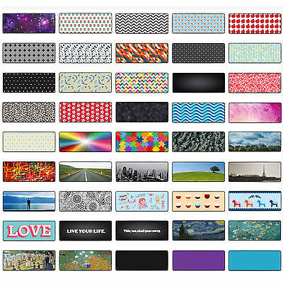 46 Designs Extended Gaming Wide Large Mouse Pad XXL (80X30cm) Big Size Desk Mat