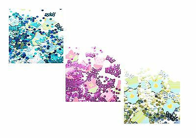 Baby Shower Polka Dot Confetti Girl Boy Pink Blue Multi Party Decorations