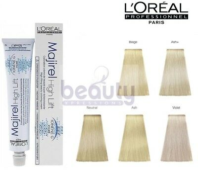 Loreal L'Oreal Professional Majirel High Lift Hair Dye Colour Permanent  50ml