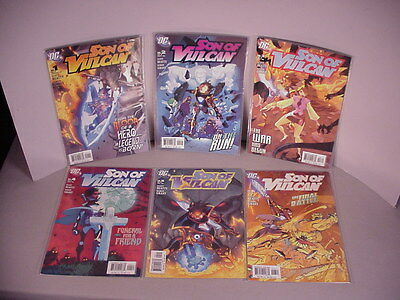 Son of Vulcan 6 Comic Books #1 thru #6 DC Comics NRMT-MT 2005 Full Run Set
