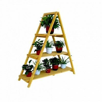 Leisure Season Wooden Ladder Plant Stand (PSL6871)