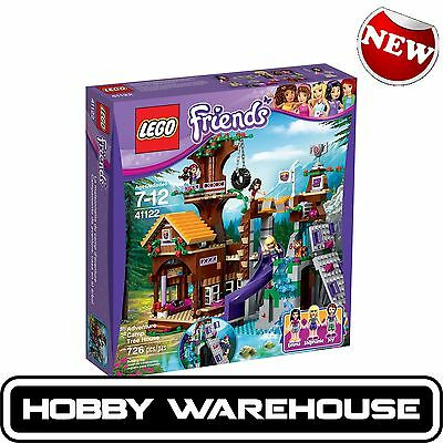 LEGO 41122 Friends Adventure Camp Tree House (BRAND NEW SEALED)