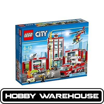 LEGO 60110 City Fire Station (BRAND NEW SEALED)