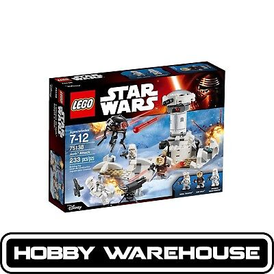 LEGO 75138 Star Wars Hoth Attack (BRAND NEW SEALED)